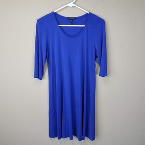 Eileen Fisher Blue Swing Tunic sz PM